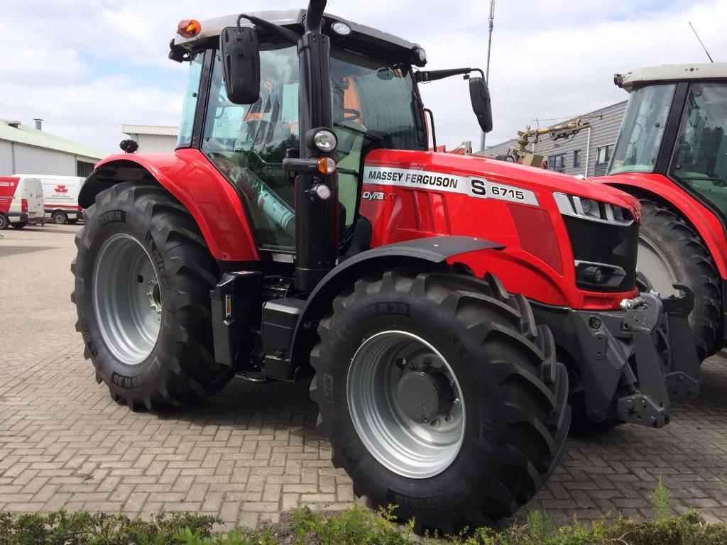 Massey Ferguson 6715 S Dyna-VT, Tractoren, Landbouw