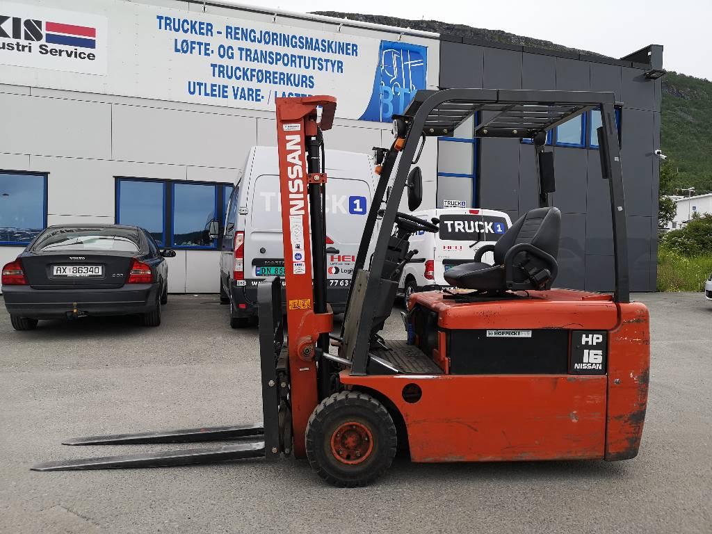 Nissan GN01L16HQ - 1,6 tonns el. truck - 3,0 m LH, Elektriske trucker, Truck