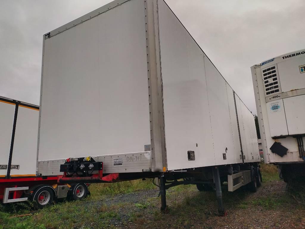 Närko citytraileri pl-nostin 12,40m, Umpikori puoliperävaunut, Kuljetuskalusto