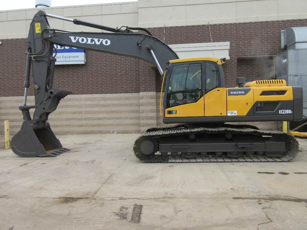 Volvo EC220DL, Crawler Excavators, Construction Equipment