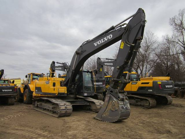 Volvo EC250DL, Crawler Excavators, Construction Equipment