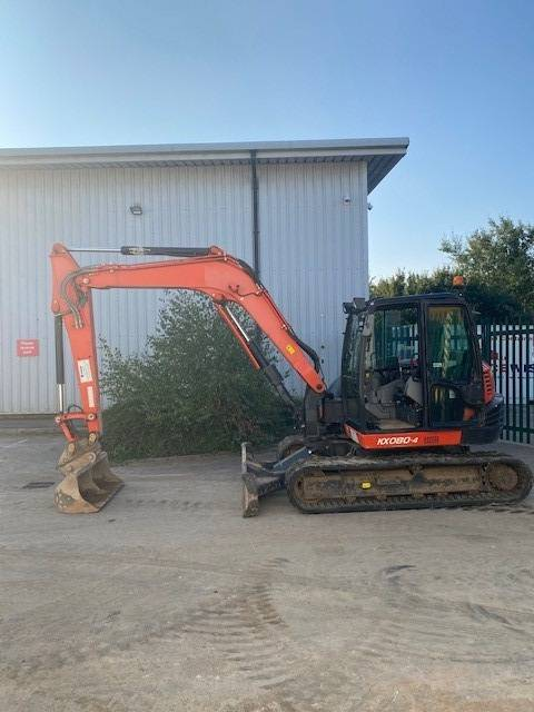Kubota KX 080-4, Midi excavators  7t - 12t, Construction
