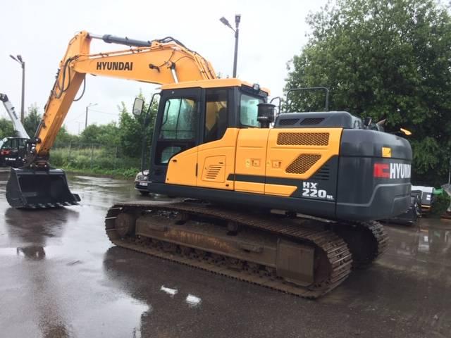 Hyundai HL220NL, Crawler excavators, Construction