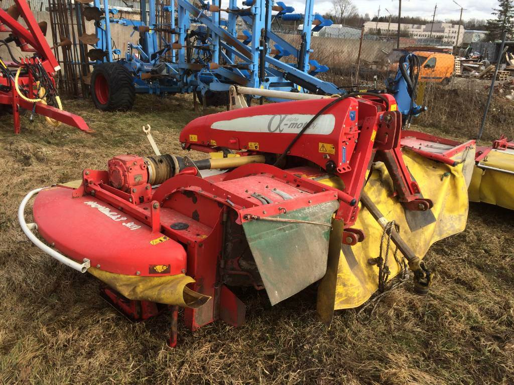 Pöttinger Novacat X8 ED + 301 ED, Mower-conditioners, Agriculture