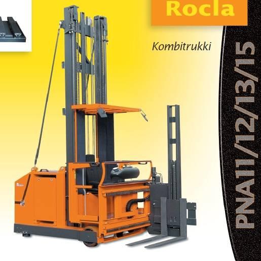 Rocla PNA 11, Kapeakäytävätrukit, Materiaalinkäsittely