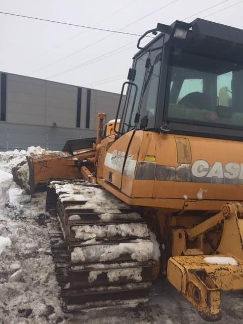 CASE 1650 K, Dozers, Construction