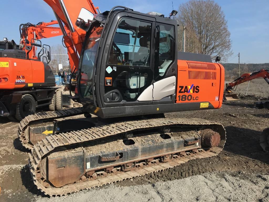 Hitachi ZX 180 LC-5, Crawler Excavators, Construction Equipment