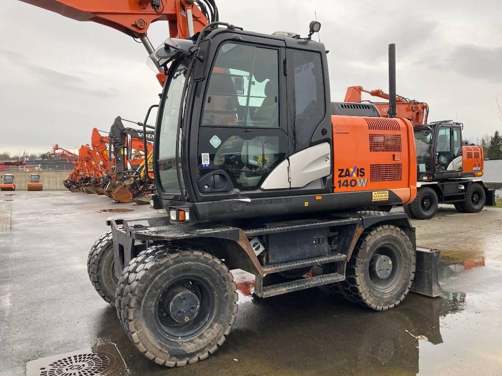 Hitachi ZX 140 W-5, Wheeled Excavators, Construction Equipment