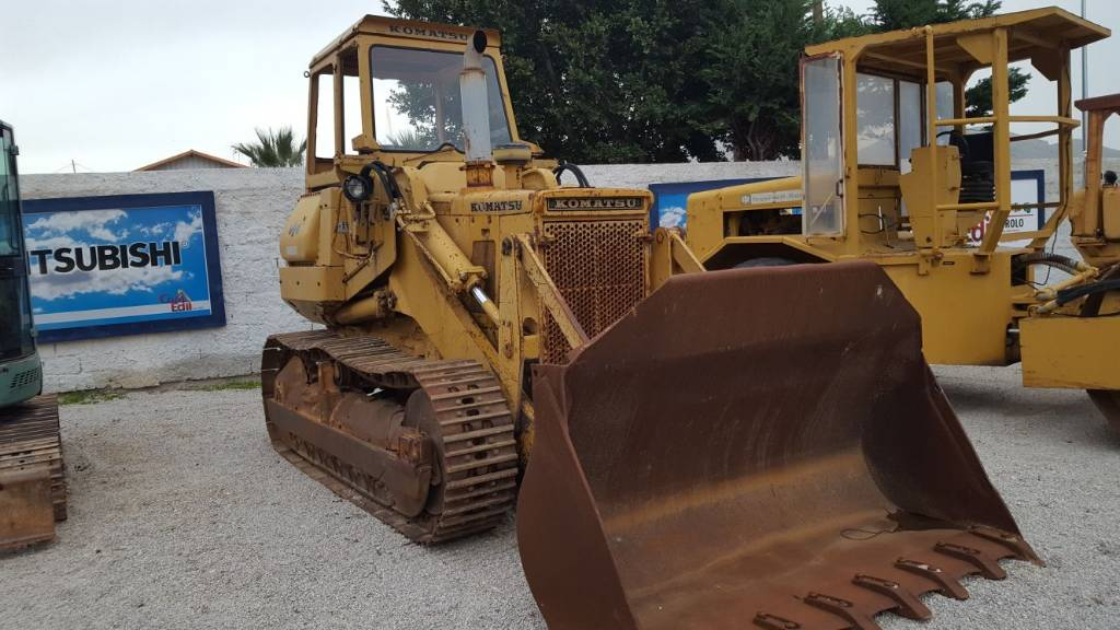 Komatsu D57S, Crawler dozers, Construction Equipment