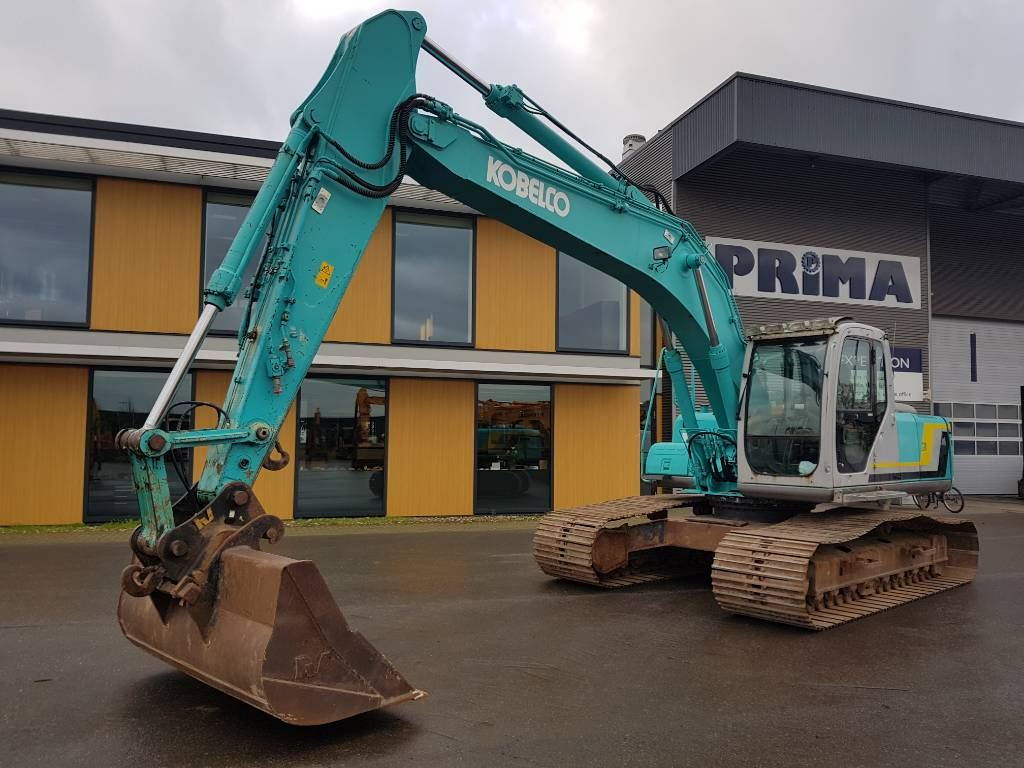 Kobelco SK 210 LC-6E, Crawler Excavators, Construction Equipment