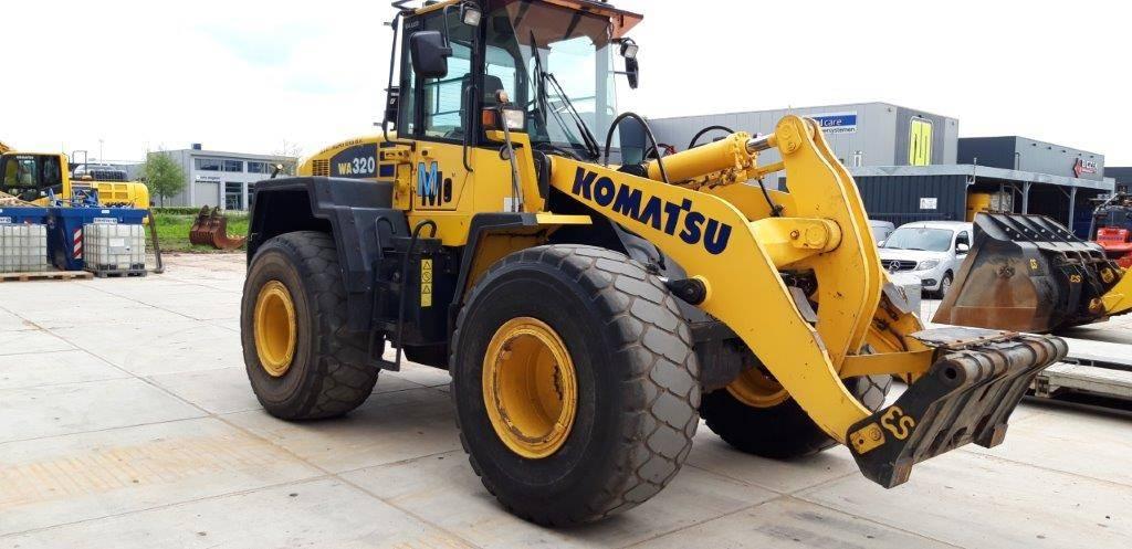Komatsu WA320-5, Chargeuse sur pneus, Travaux Publics