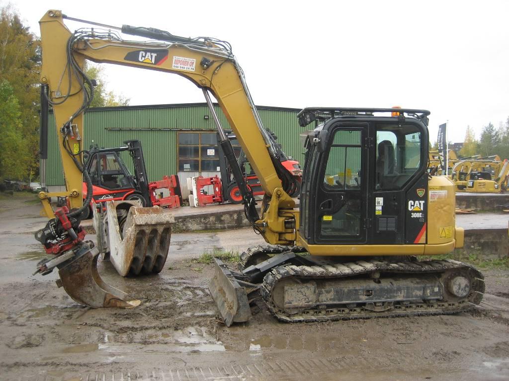Caterpillar 308E 2, Mini excavators < 7t (Mini diggers), Construction