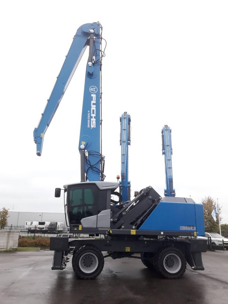 Fuchs MHL360F, Waste / industry handlers, Bouw