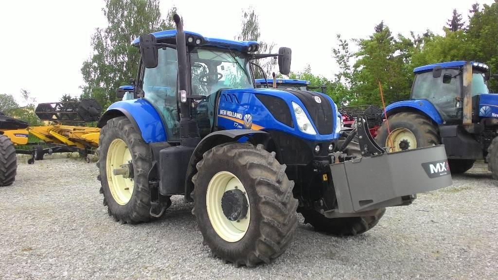 New Holland T 7.260 PC, Traktorid, Põllumajandus