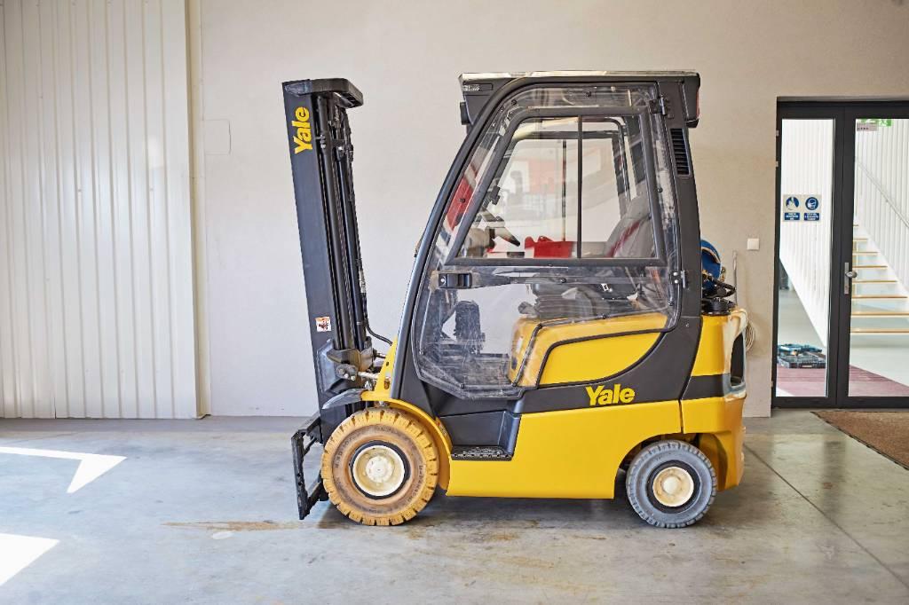 Yale GLP16VX V2175, LPG counterbalance Forklifts, Material Handling