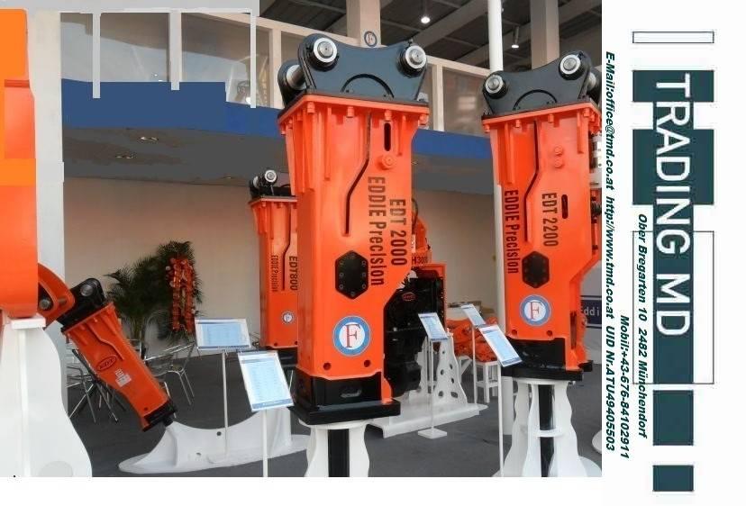 [Other] Hydraulikhammer EDT 400 -380 kg 4-7 t.Bagger NEU I, Hammer / Brecher, Baumaschinen