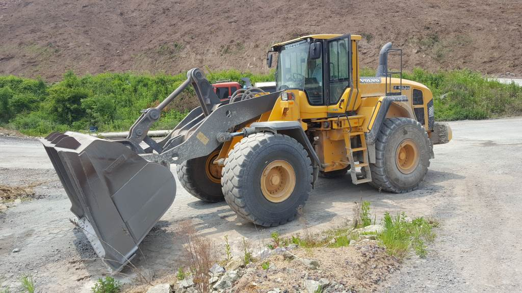 Volvo L150G, Wheel loaders, Construction