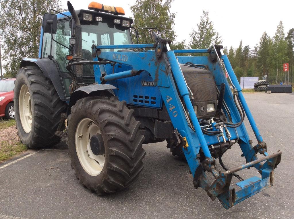 Valmet 8550-4, Traktorit, Maatalous