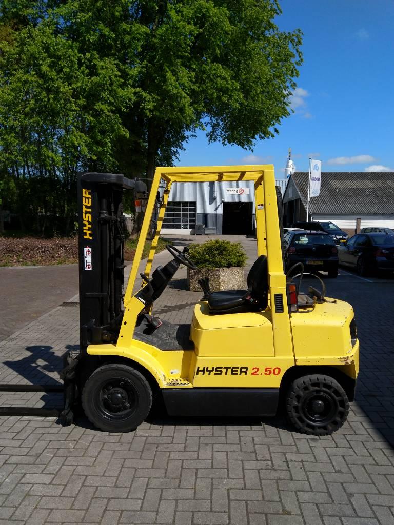 Hyster H 2.50 XM Heftruck, LPG heftrucks, Laden en lossen