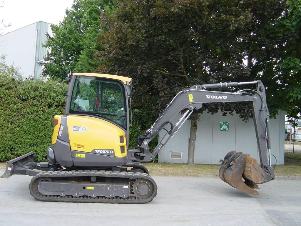 Volvo ECR50D, Mini excavators < 7t (Mini diggers), Construction