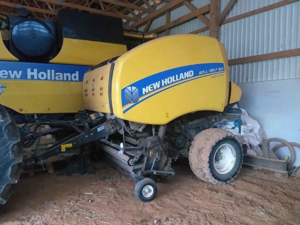New Holland Roll- Belt 150 CropCutter, Ruloonpressid, Põllumajandus