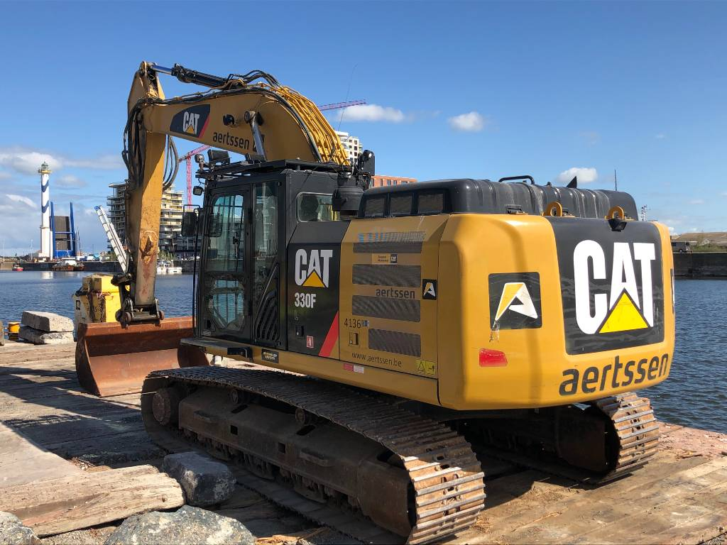 Caterpillar 330 F L, Crawler excavators, Construction