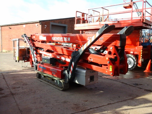 Hinowa Lithium Lightlift 26-14 Performance 11S, Articulated boom lifts, Construction