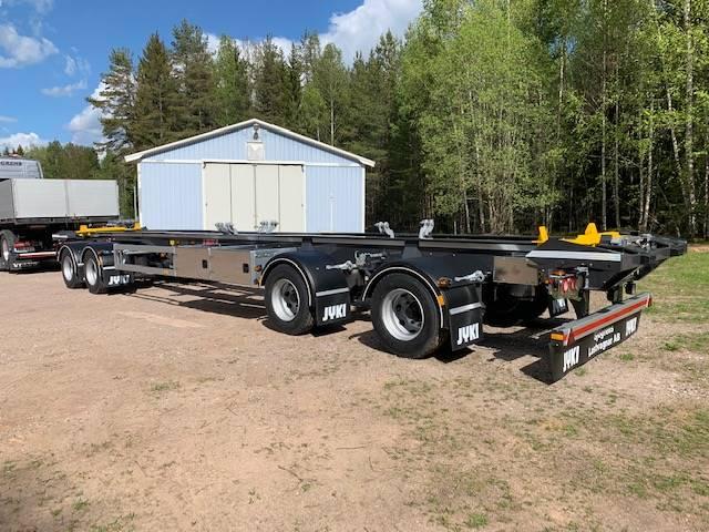 Jyki Lastväxlarvagn med skjutcylinder, Lastväxlarsläp, Transportfordon