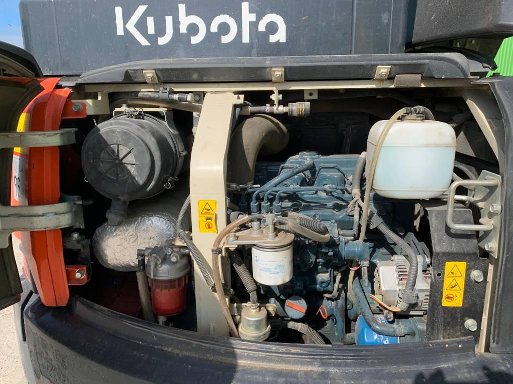 Kubota U 48-4, Minigraafmachines < 7t, Bouw