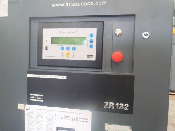 Atlas Copco ZR 132, Compressors, Industrial