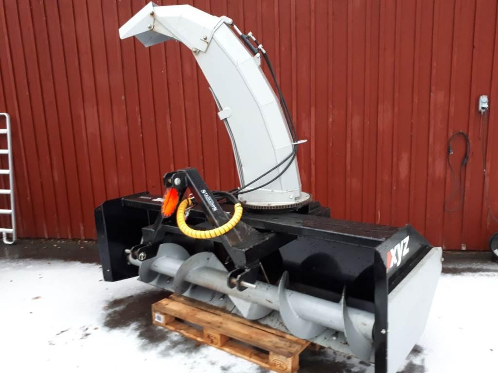 XYZ Snöfräs 240, Snöslungor och -fräsar, Lantbruk