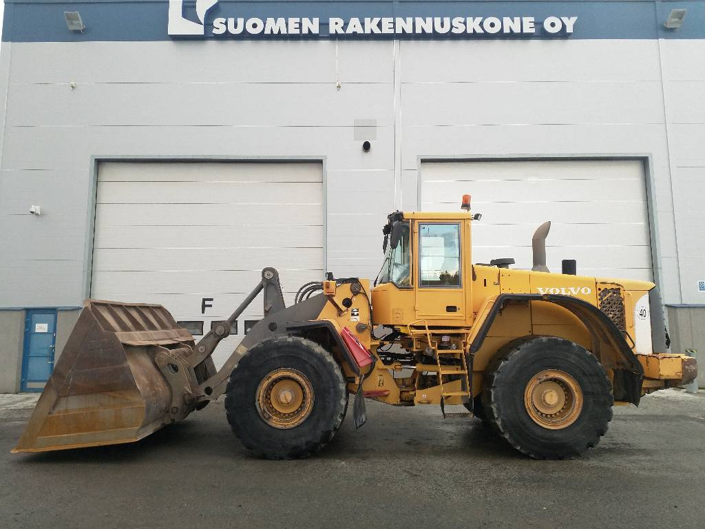 Volvo L 150 E, Wheel loaders, Construction