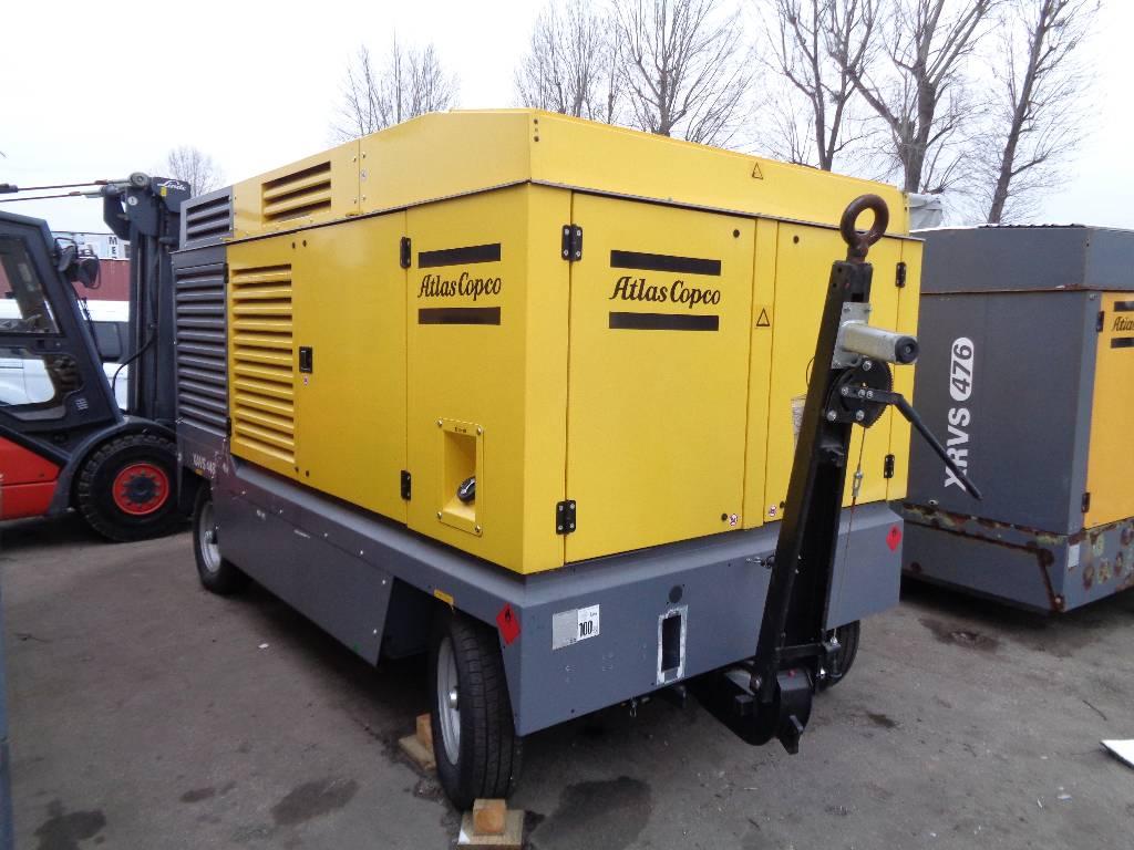 Atlas Copco XAVS 448, Compressors, Construction