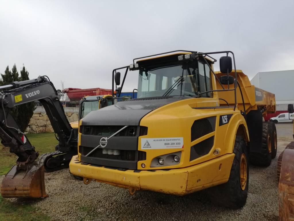 Volvo A25F, Articulated Dump Trucks (ADTs), Construction Equipment