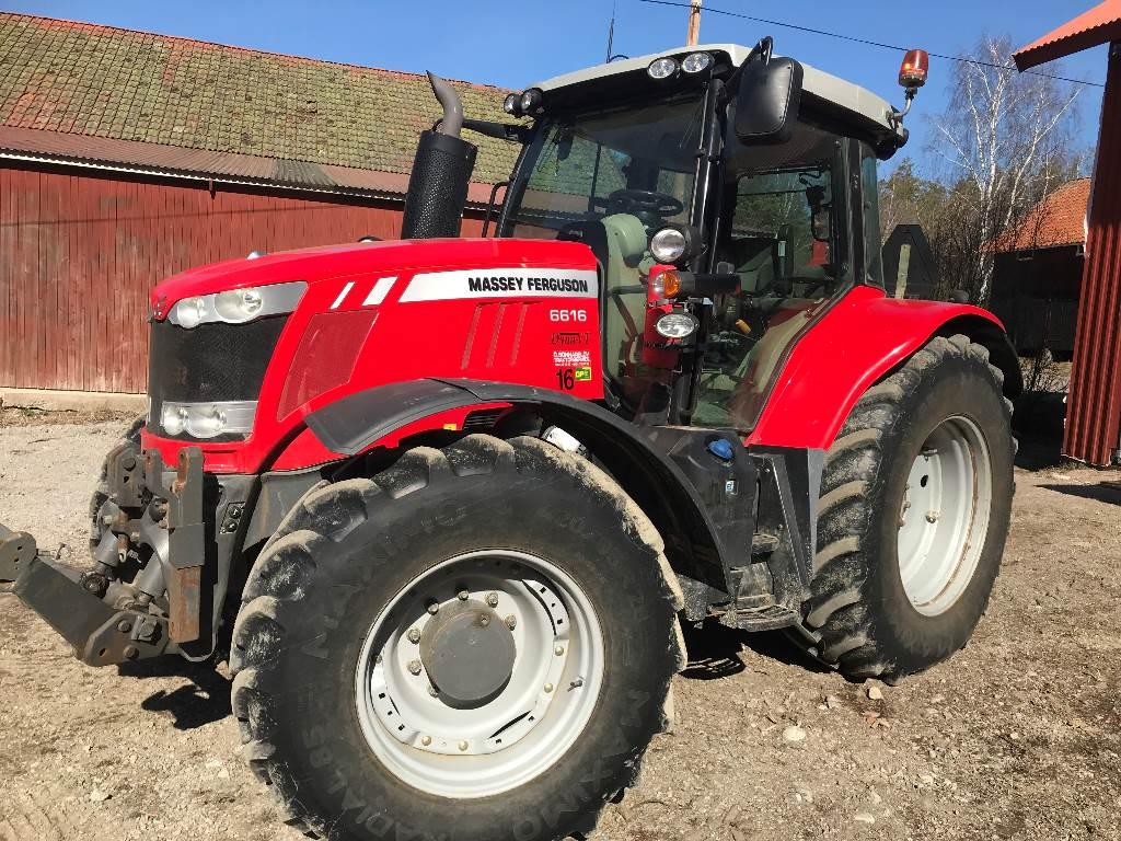 Massey Ferguson 6616, Traktorer, Lantbruk
