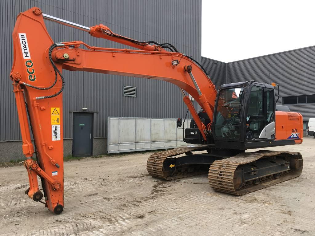 Hitachi ZX210LC-6, Crawler Excavators, Construction Equipment