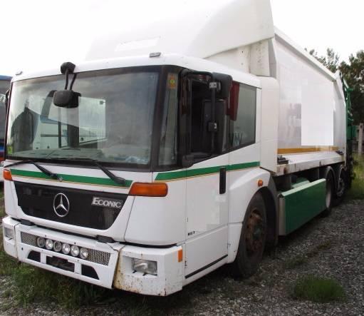 Mercedes-Benz 2628G L, Šassiid, Transport
