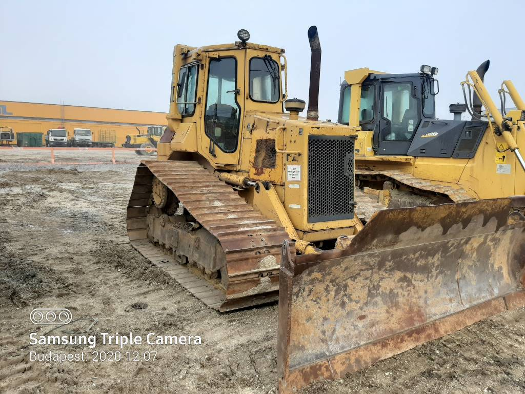 Caterpillar D 4 H, Crawler dozers, Construction Equipment