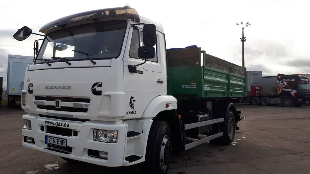 Kamaz 53605 (K2030), Konksliftveokid, Transport