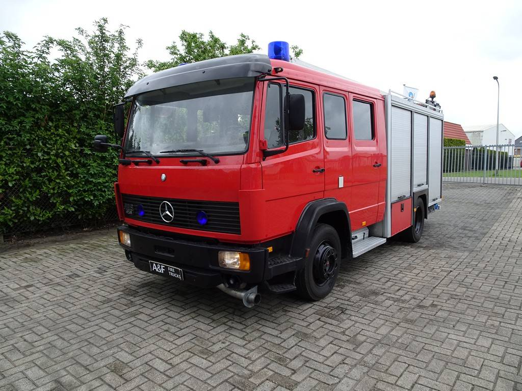 Mercedes Benz 1120 Ziegler, Fire trucks, Transportation