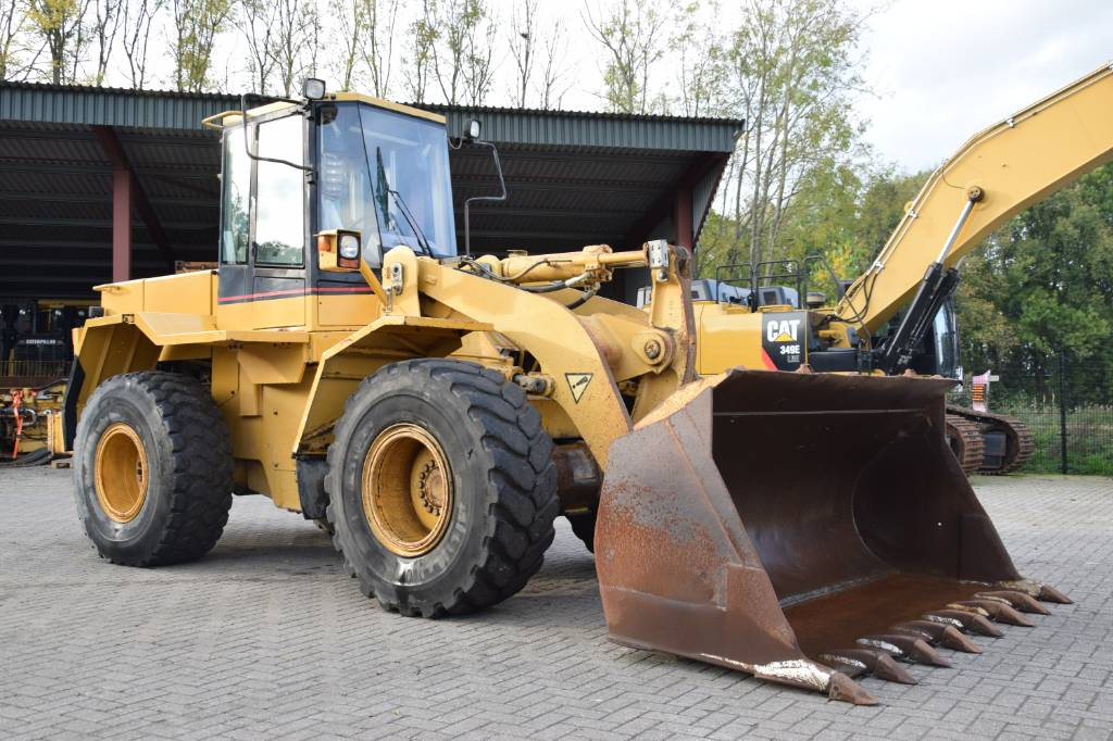 Caterpillar 938 F, Wheel loaders, Construction