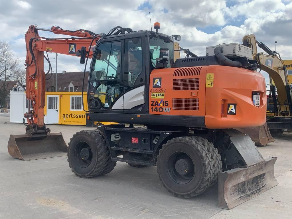 Hitachi ZX 140 W-5B, Wheeled excavators, Construction