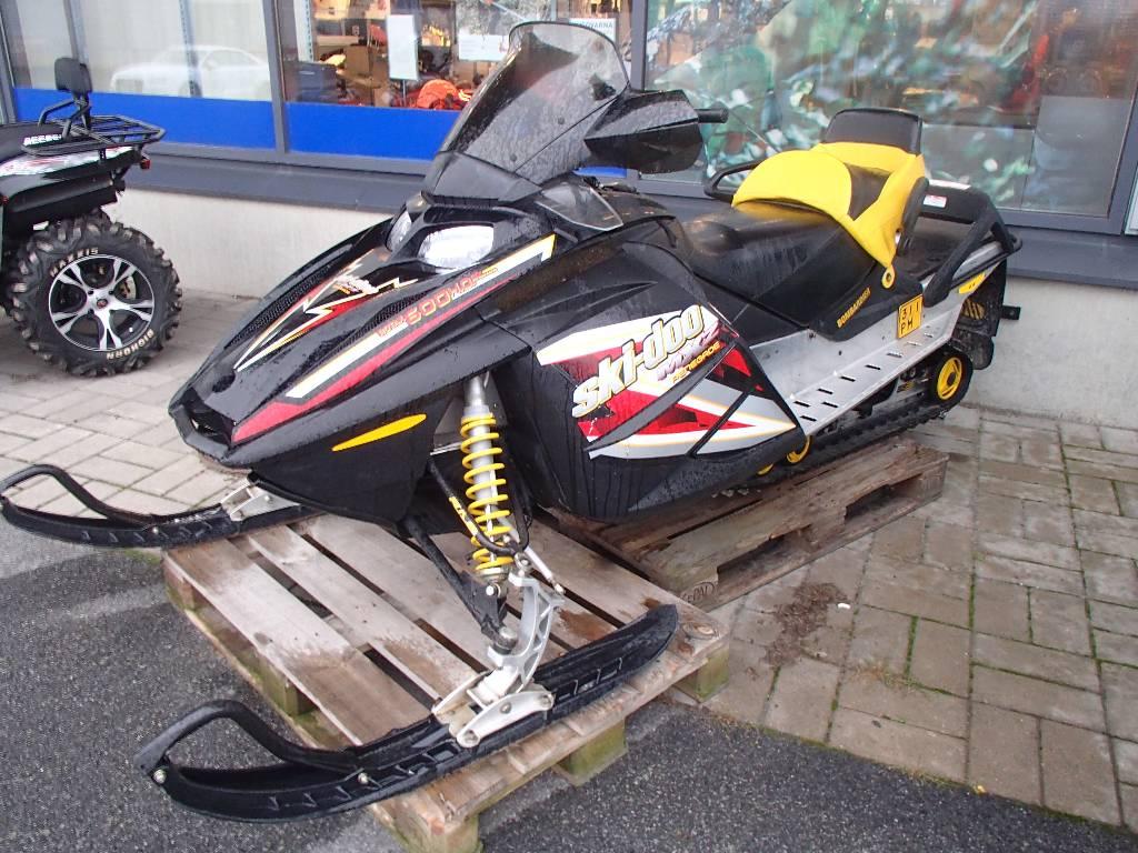 Ski-doo MXZ 600 SDI, Moottorikelkat, Maatalous
