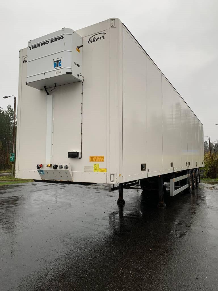 Ekeri PPV lämmitin 2015 DDV-772, Umpikori puoliperävaunut, Kuljetuskalusto
