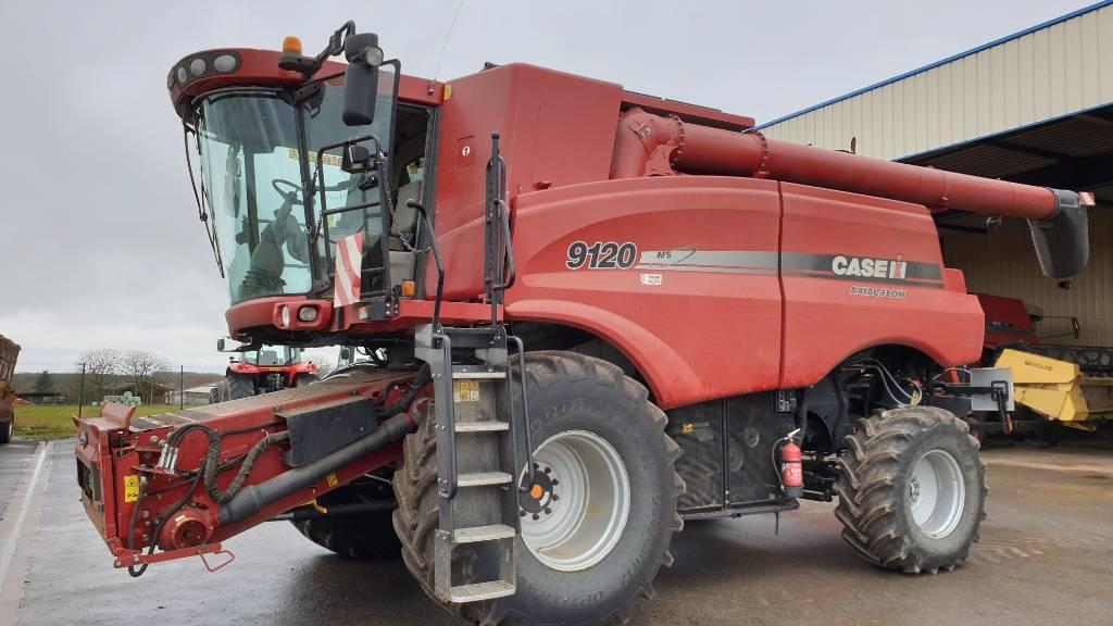 Case IH 9120 AXIAL FLOW 4x4, Machine à la récolte, Agricole