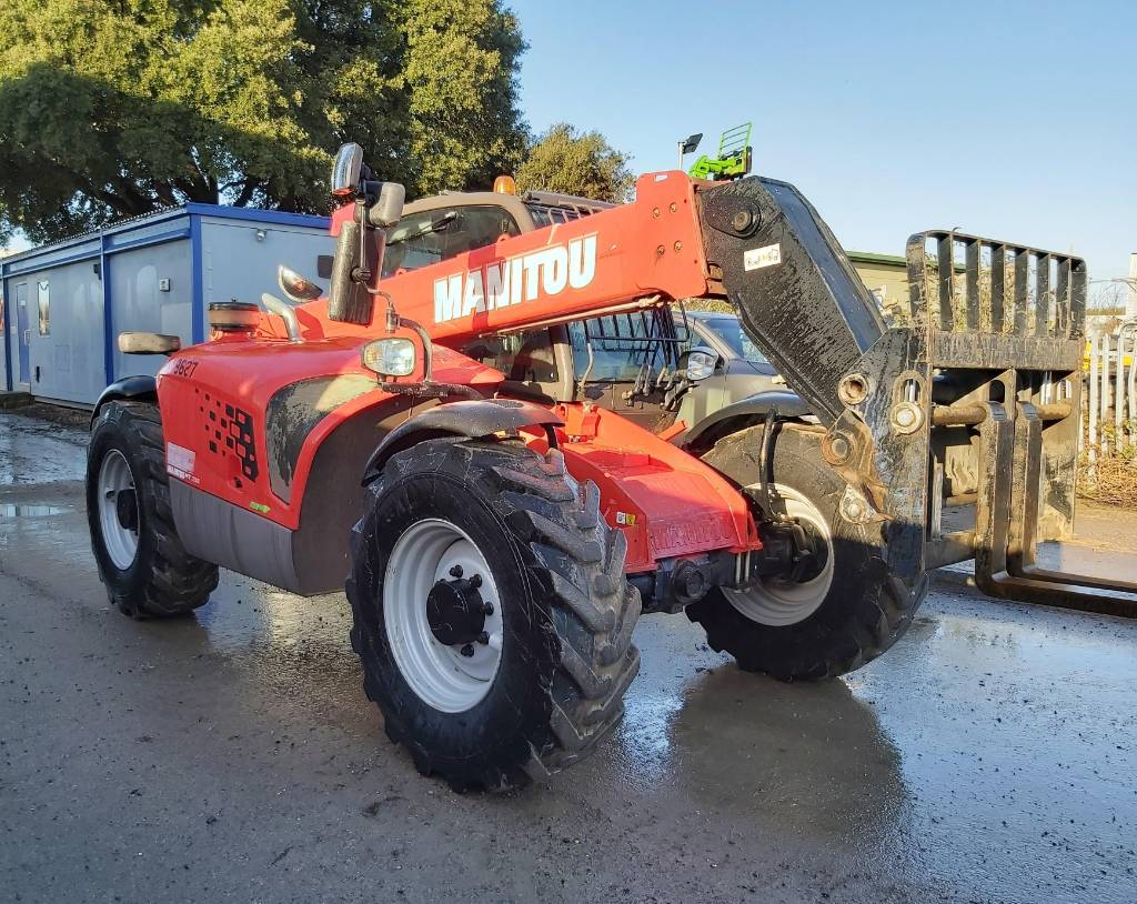 Manitou MT 732, Telescopic handlers, Construction