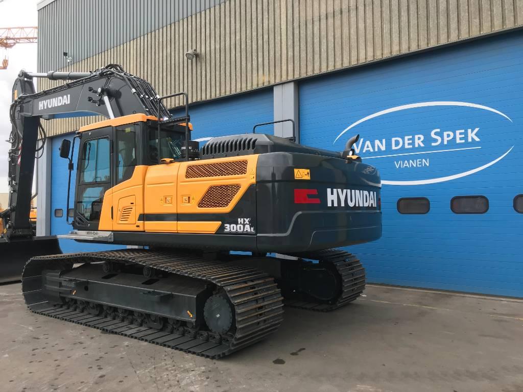 Hyundai HX300AL, Wielladers, Bouw