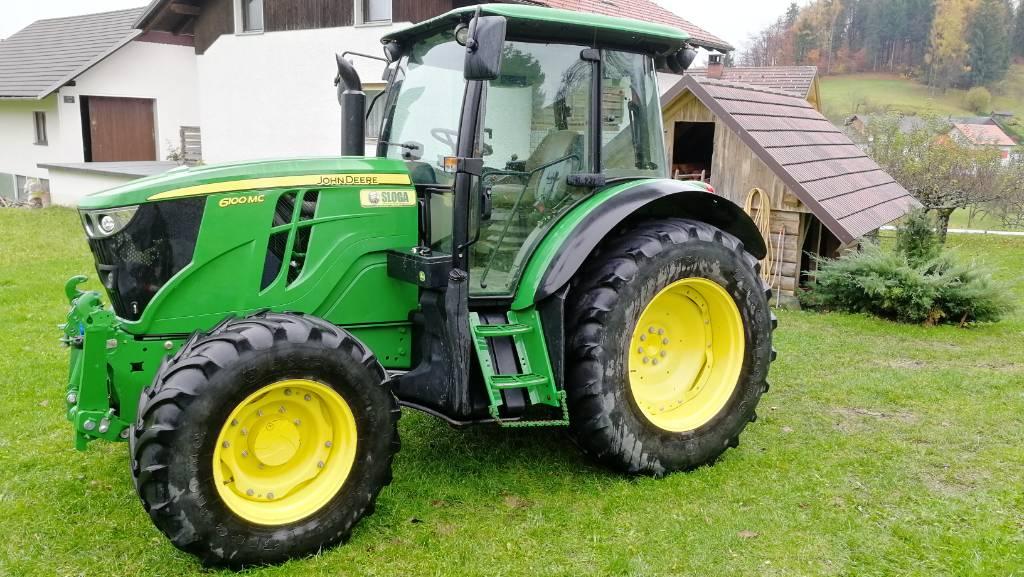 John Deere 6100 M C, Traktorji, Kmetijstvo