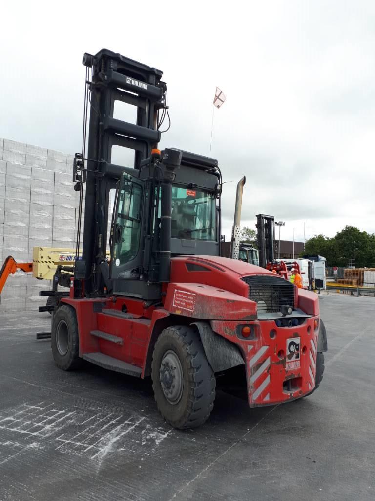 Kalmar DCG120-6, Dieseltrukit, Materiaalinkäsittely