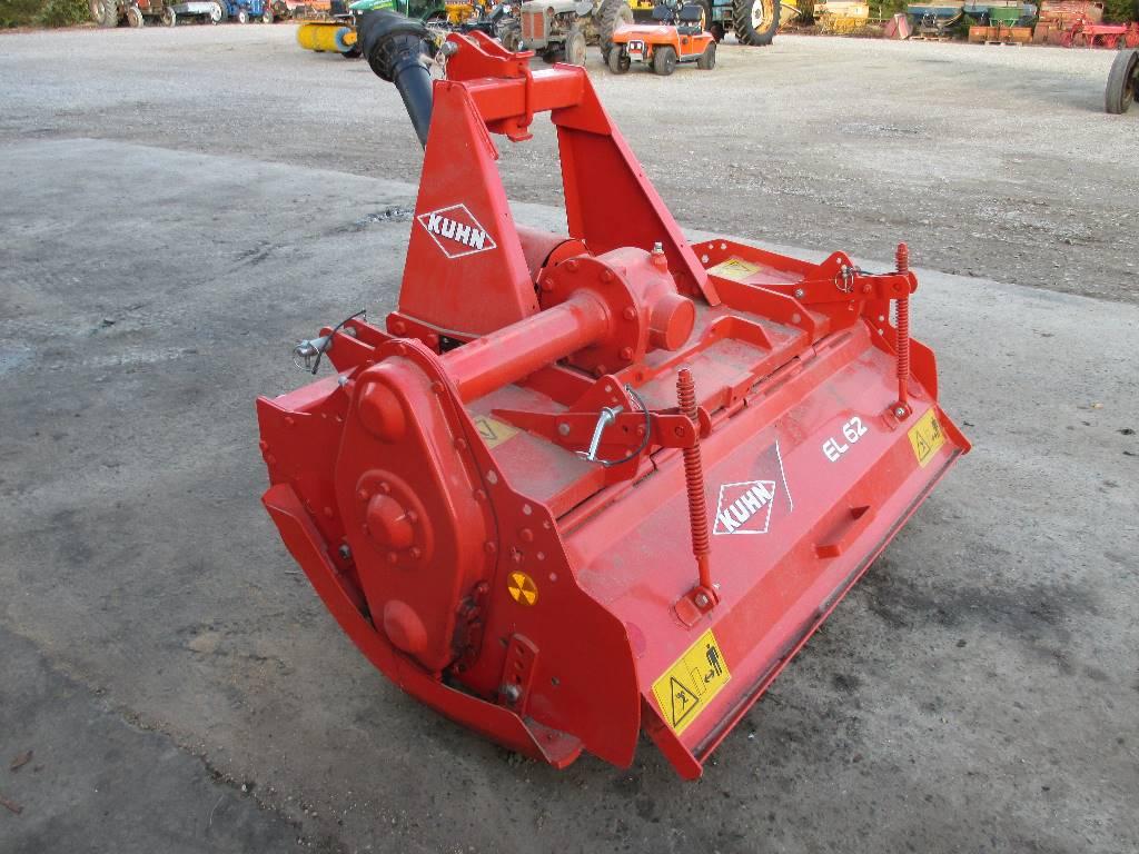 Kuhn EL 62-130cm Fræser, Elektriske harver / jordfræsere, Landbrug